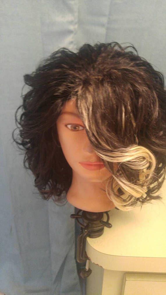 Shonda 100 %  Human Hair Color 1B and Blond 10 Inches Peruvian