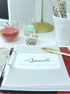 outils d'organisation - Mon carnet déco, DIY, organisation, idées rangement.