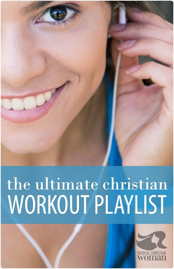 Guard your mind from funky gym music while training your body with this great Christian workout playlist that you can tune into while you sweat!