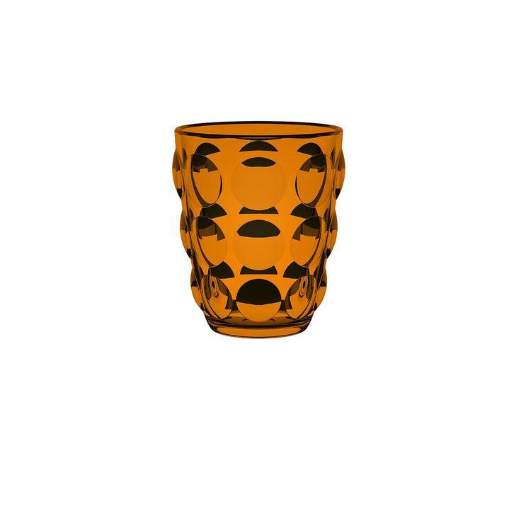Bicchieri Bolle Tumbler  ITALESSE in pasta di vetro sia trasparente che colorata con una superficie ricca di bolle in rilievo. Ideali per servire acqua, succhi di frutta, long/soft drink, aperitivi o cocktail. Non potrai farne a meno!