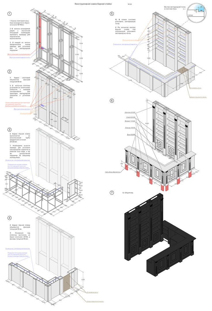 Furniture Bar design  Archicad