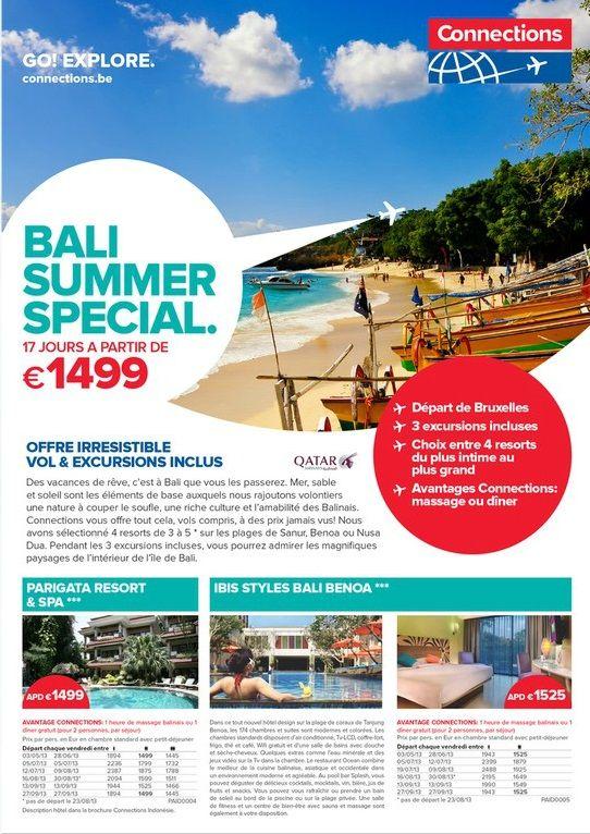 Brochure Bali spécial été 2013: http://www.jambooty.be/nl/document/1006201