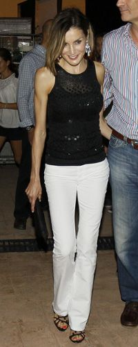 29 Aug 2015 - King Felipe and Queen Letizia attended Jaume Anglada concert in Palma. Click to read more