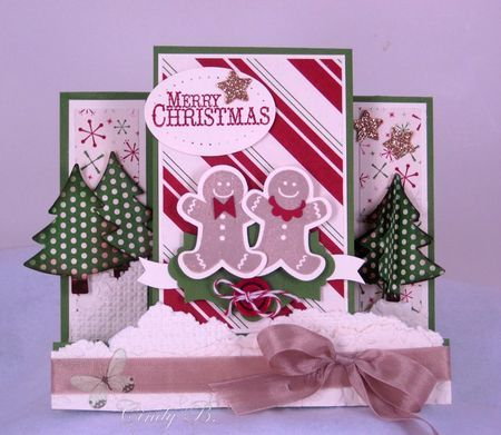 2274 best handmade christmas cards images on pinterest christmas artisan projects for november gingerbread greetings card m4hsunfo