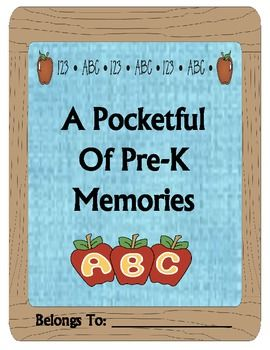 What a fun end-of-the-year memory book!  This is a time to recognize and share what the students have learned throughout the year.  The students love completing this cute book and the parents will treasure it for years to come!