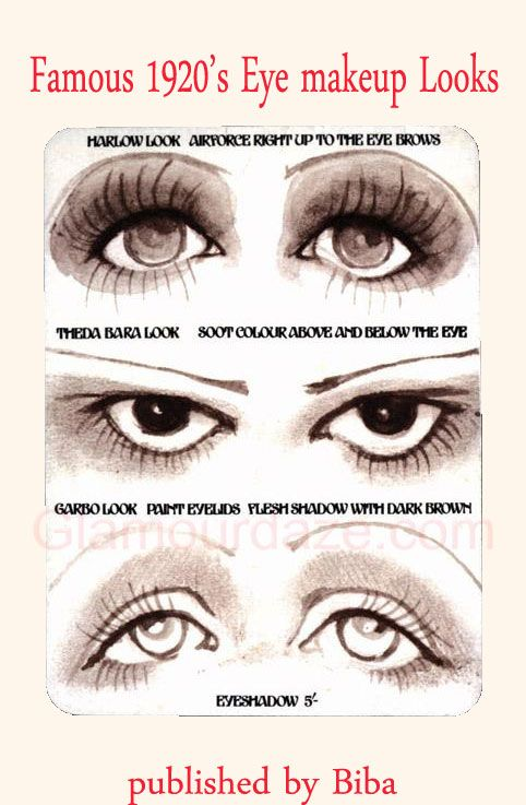 Gallery – The Makeup Looks of the 1920′s. Hollywood-eye-makeup-looks.