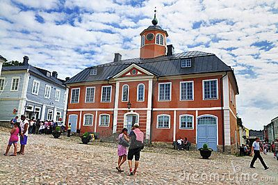 Old Porvoo - The Medieval Town In Finland