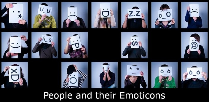 """Emoticons is a FREE app based on a book made by the photographer Andrea Scala  Emoticons is a """"FREE!"""" app based on a photographic book made by the italian photographer Andrea Scala."""