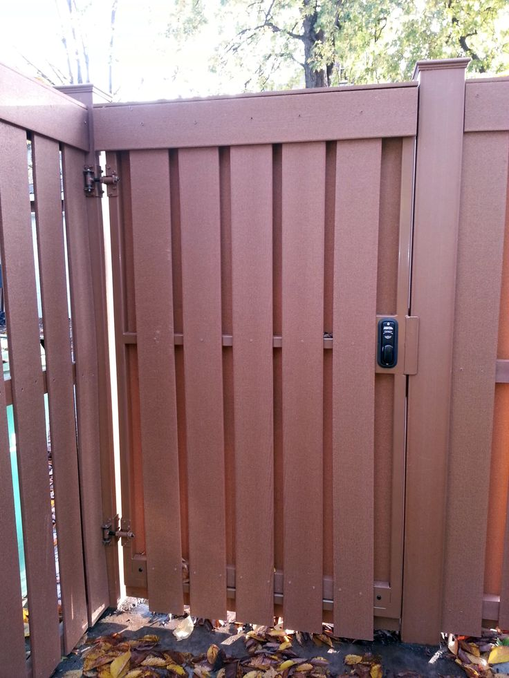 Wood Fence Gate Keyless Lock Googdrive Com
