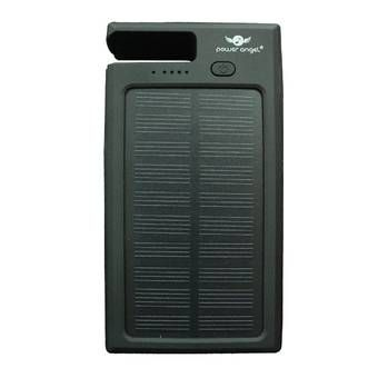 Power Angel Powerbank Solar Charger SC300 - 6800 mAh - Hitam | Lazada Indonesia