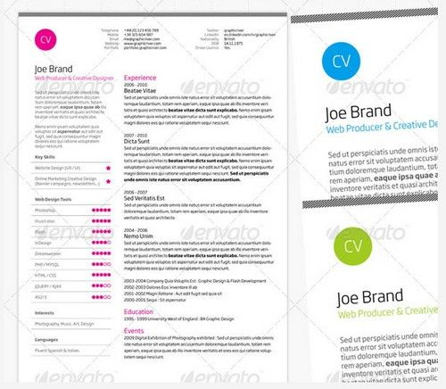 25 best resume images on Pinterest Resume ideas, Cv design and - resume website examples