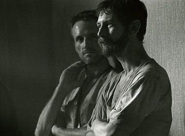 Linus Roache and Ian Hart