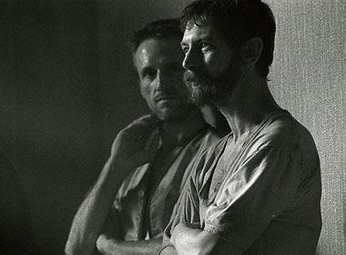 Linus Roach and Ian Hart