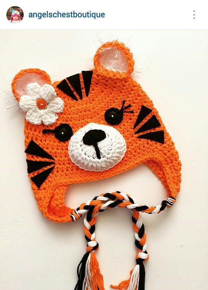 Instagram @angelschestboutique ~ crochet baby beanie ~ pic only
