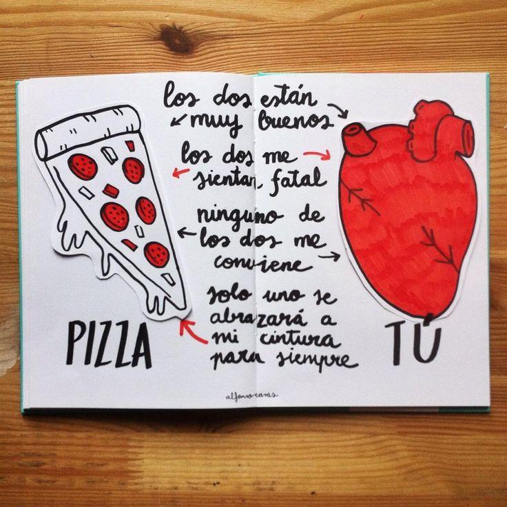El amor va y viene pero la pizza se mantiene | 2016