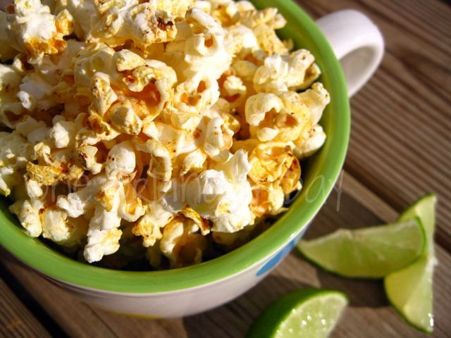 Chili lime popcorn | Chili, Popcorn and Limes