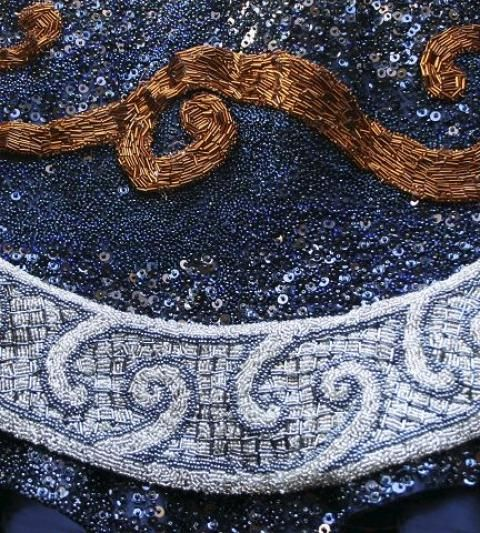 "Embroideries for A/W 2011 ""Dark Dawn"". Photo: Rudy Wolff"