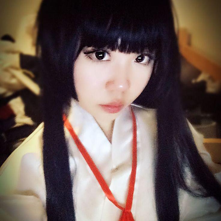 Care to guess my next cosplay? #anime #animecosplay #cos #cosplay #manga #mangacosplay #inuyasha #kikyou #kikyo #kikyocosplay #kikyoucosplay #miko #アニメ #コスプレ #コスプレイヤー #漫画 #犬夜叉 #桔梗 #巫女