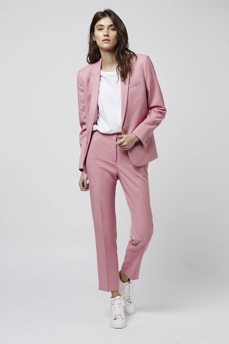 Best 25  Pink suit ideas on Pinterest | Light pink pants, Pink ...