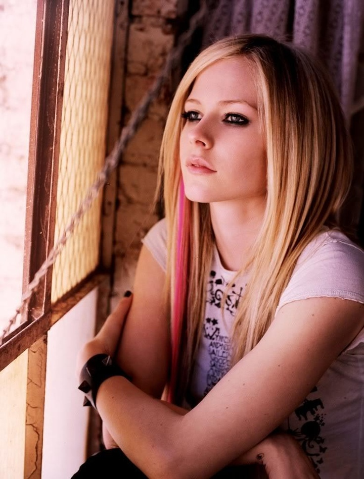 """Avril Lavigne has had some great songs that I could listen to on repeat, like....""""I'm with You"""", """"Girlfriend"""", """"Complicated"""", """"Keep Holding On"""" and """"Sk8er Boi"""".....there's more but you can listen to her music."""