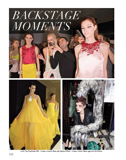 Backstage Moments. #backstage #models #funny #fashion #style #look #catwalk #fashionshow #hautecouture