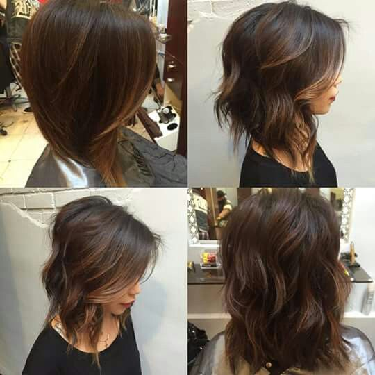 Tremendous 17 Best Images About Long Bob Hairstyles On Pinterest Wavy Bobs Hairstyles For Men Maxibearus
