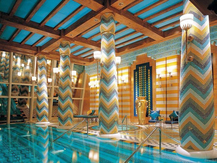 Piscina Del Hotel Burj Al Arab Mi Moleskine Arquitectónico