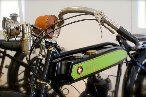 «Alpenknattern», Motorrad-Ausstellung in Flims, Moser 175 ccm, 1926 by -juergvollmer- #flickstackr