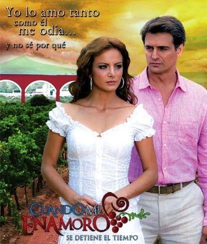 Cuando me enamoro Telenovela Mexicana