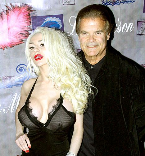 Two weeks after splitting from much-older husband Doug Hutchison, Courtney Stodden, 19, stepped out with Anna Nicole Smith's ex-boyfriend Edward Lozz.