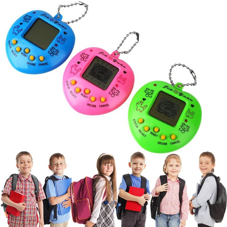 1PC Mini Cyber Pet Funny Retro Game Electronic Pets Nice Present Toys For Children Speelgoed