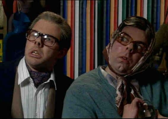 The League of Gentlemen - Uber surreal jet-black comedy from the locality of Royston Vasey :D