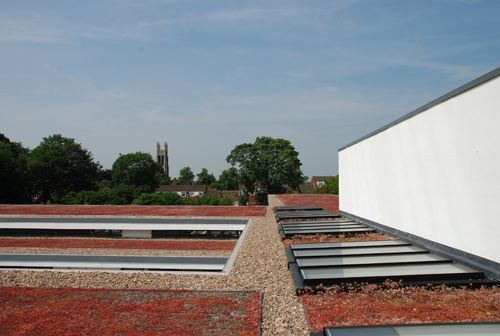 St Georges School | The Rooflight Company