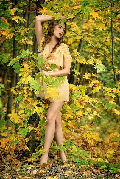 """""""Осень"""" Фото: Андрей Кизин  Стилист: Наталья Фонарева"""