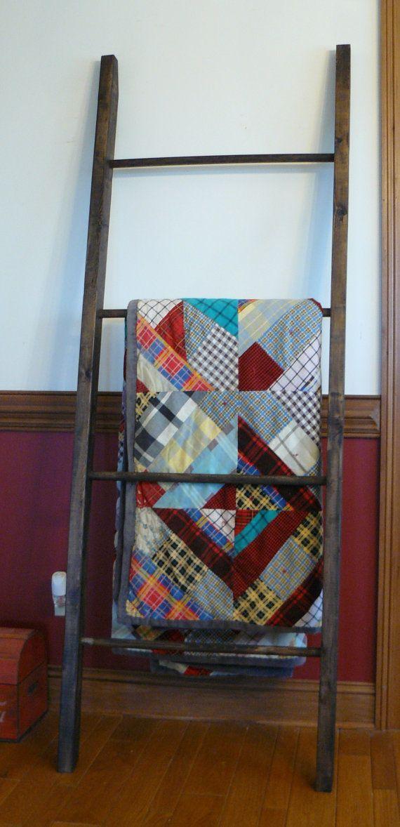 25 Best Ideas About Quilt Ladder On Pinterest Blanket