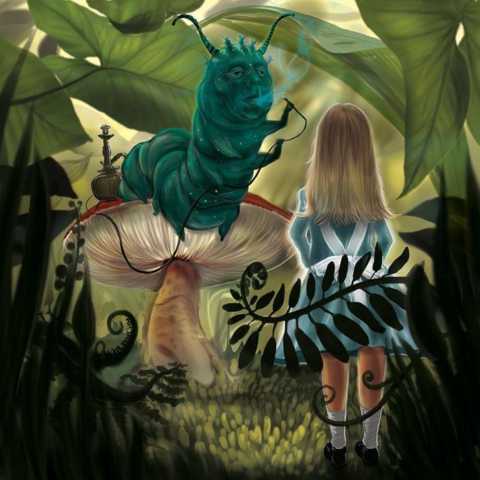 ALICE IN WONDERLAND BY ROSEN MARINOV OUMMAIA