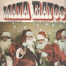 Revista: MATA RATOS, II Epoca: Numero 35: Feliz Navidad, esto es un atraco (18 Diciembre 1976)