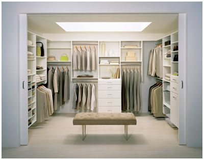 "I googled ""small closet organization"" and this came up. This is the size of my bedroom! Not so small! But it's a nicely organized closet."