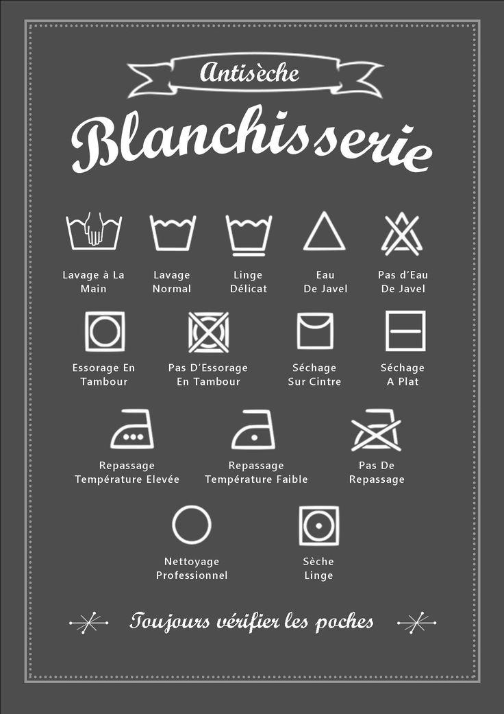 Si vous êtes comme moi et que par moment vous ne vous souvenez plus des symboles sur les étiquettes des vêtements avant de les mettre dans...