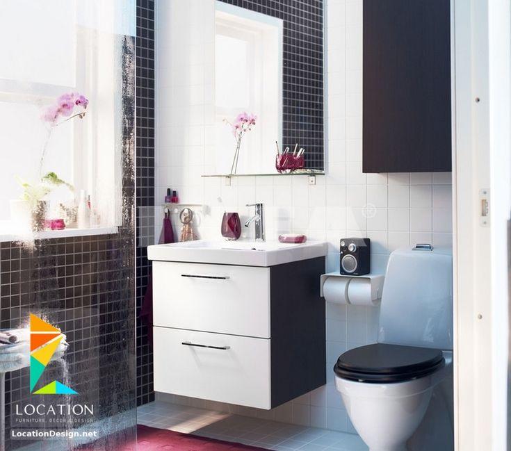 ديكورات حمامات صغيرة المساحة   50 تصميم حمامات مودرن بأفكار رائعة جدا    حمامات   Pinterest   50th