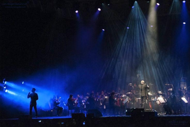 Concert with philarmonic orquestra