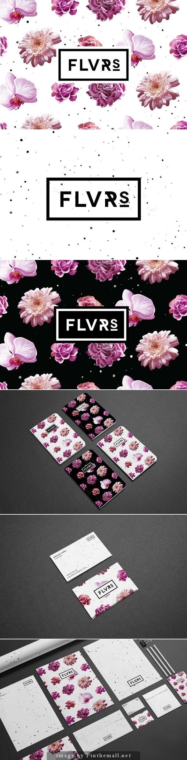 (2) Flvrs Brand Identity | Gráfico! | Pinterest