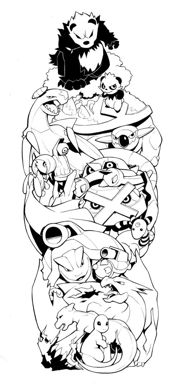 Pokemon Sleeve 2 by H0lyhandgrenade on DeviantArt