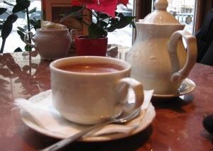Coffee break in Prague