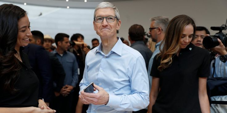 Apple share price: RBC survey says strong demand for 256GB iPhone X - Business Insider