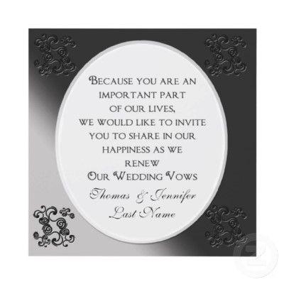 108 best Wedding renewal invitations images on Pinterest ...