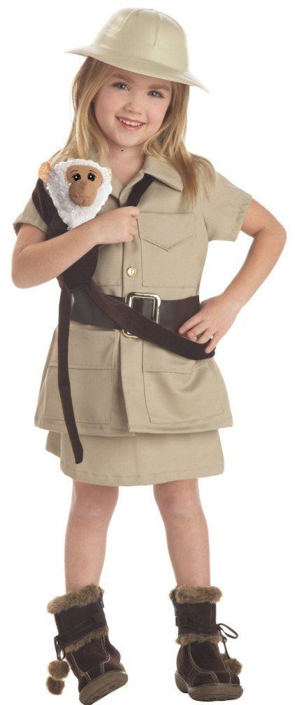 Child's zookeeper costume
