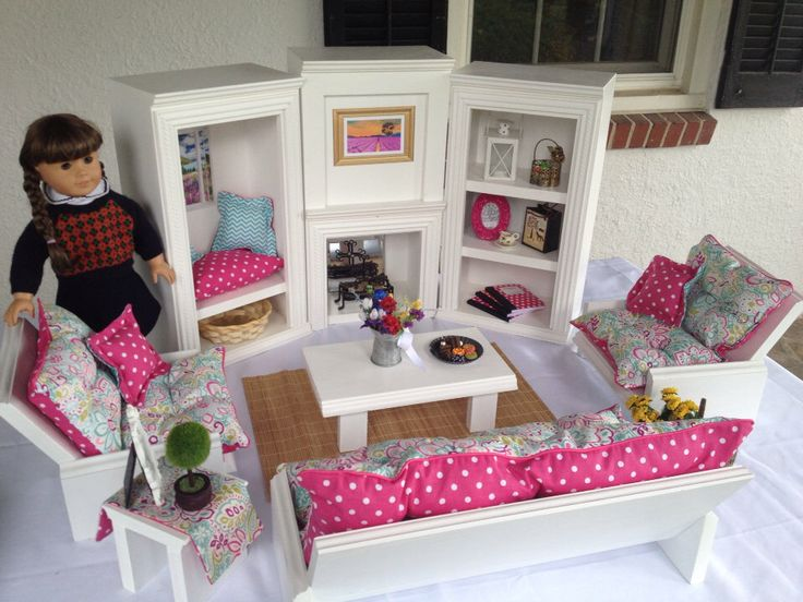 346 Best Images About Barbie Doll Houses And Diy Doll Furniture And Clothes 18 Inch Doll