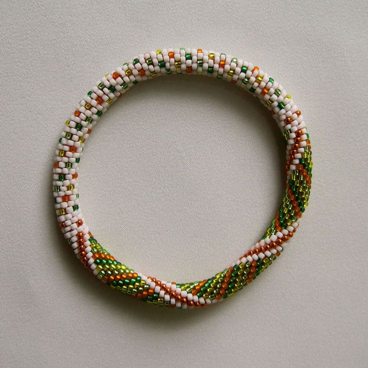 Bead Crochet Pattern Little Dots and Spirals