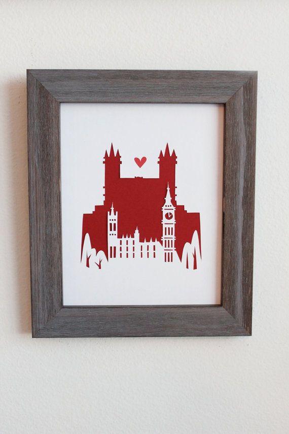 London. England  Big Ben.  Personalisiertes von Cropacature auf Etsy